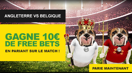 Belgique x Angleterre: Gagnez un pari gratuit avec betfirst #ENGBEL #CM2018