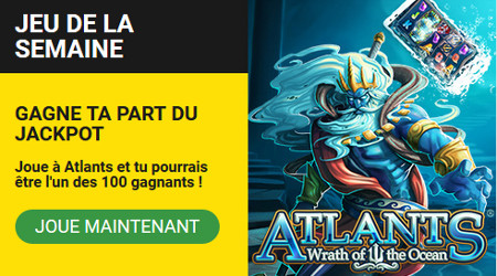 5.000 free spins à gagner sur Atlantis Wrath of The Ocean : BetFirst Casino Promotion