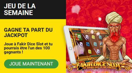 Jouez à Fakir Dice Slot et gagnez des free spins