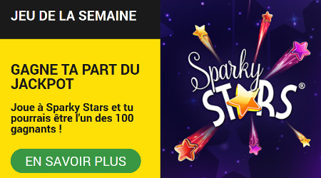 Jouez sur Sparky Stars et gagnez un bonus de 10 euros