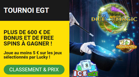 BetFirst Casino : Gagnez plein de bonus avec le tournoi EGT