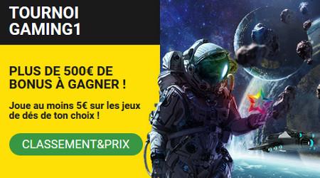 500 euros à gagner sur les jeux Gaming1 avec Betfirst Casino