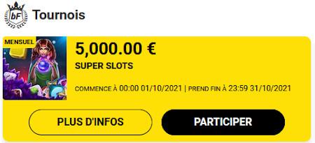 Tournois Casino: Du cash à gagner chaque mois sur le casino Betfirst