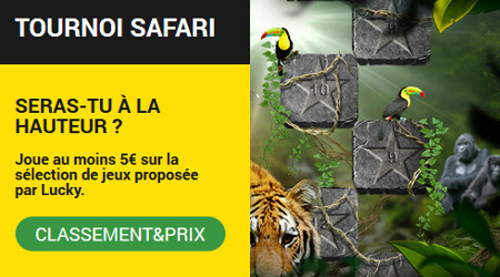 Tournoi Safari : Gagnez des bonus avec le casino BetFirst