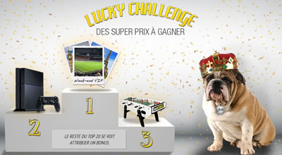 Lucky Challenge (betFirst.be)