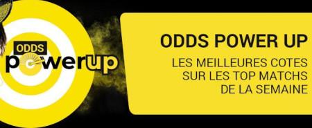 Odds Power Up de Betfirst : Profitez des meilleures cotes pour vos paris