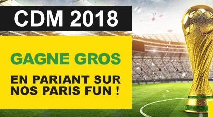 Des paris funs pour la Coupe du Monde sur BetFirst