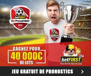 PronoFIRST: 40.000 € de prix à gagner