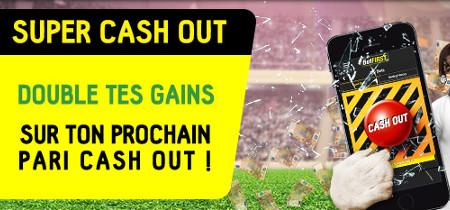 Super Cash-out de betFirst : Doublez vos gains