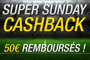 Betfirst rembourse 50 € pour FC Barcelone x Real Madrid & FC Bruges x Anderlecht