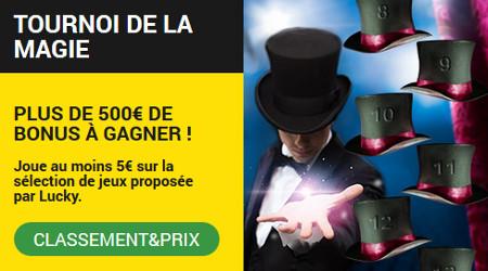 Tournoi de la Magie : Plus de 500 euros à gagner en jouant sur les jeux Betfirst