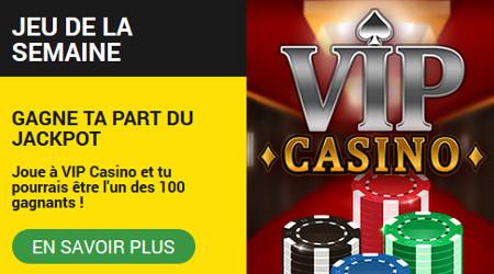 1.000 euros à se partager en jouant sur VIP Casino