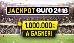 Jackpot Euro 2016, 1.000.000 d'euros à gagner en pariant sur betFirst