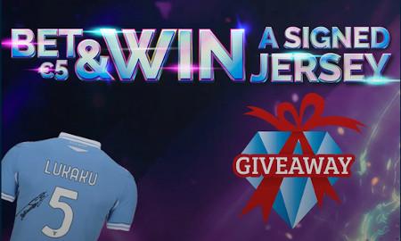 Bet & Win: un maillot signé de J. Lukaku à gagner avec Blitz