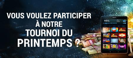 10.000 euros à se partager avec le tournoi du printemps