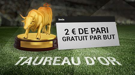 Taureau d'Or : Gagnez un pari gratuit pour chaque but