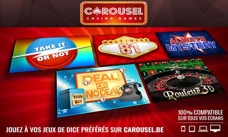 Deal Groupon pour Carousel.be