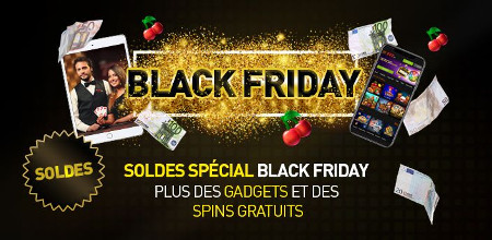 Black Friday du casino 777 : Trois bonus sur trois jours