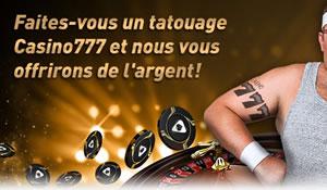 Poisson d'Avril et 100 x 7 spins gratuits pour le 1er avril au Casino 777