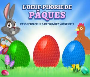 L'Oeuf-Phorie de Pâques Spins gratuits, Bonus et 1.000 € en cash