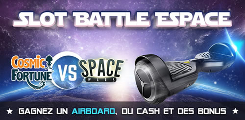 Slot Battle Espace : Cosmic Fortune vs Space Wars