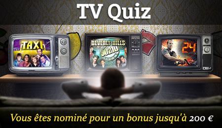 Casino777.be vous offre 200 € en répondant au quiz spécial télé