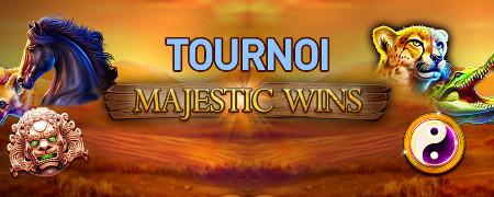 2.000 euros � gagner avec le tournoi Majestic Wins