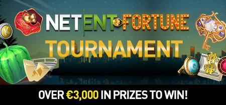 Tournoi Netent  Fortune : 3.000 euros et des spins gratuits au Casino777