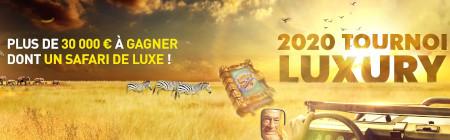 30.000 euros et un safari de luxe à gagner avec le festival Luxury 2020
