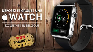 Une Apple Watch � gagner sur casino777.be