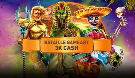 3.000 euros à se partager lors du tournoi Game Art 3K Cash Battle