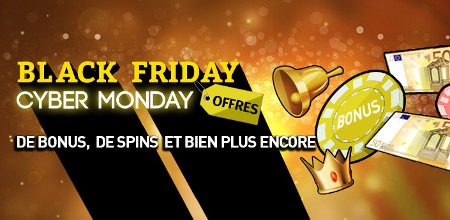 Black Friday et du Cyber Monday au casino777