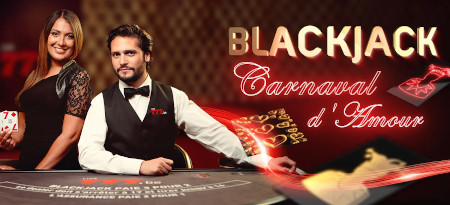 Blackjack Carnaval d'Amour : Avalanche de prix sur le blackjack du casino777