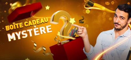 Boite Cadeau Mystère: Une surprise vous attend  sur le casino777