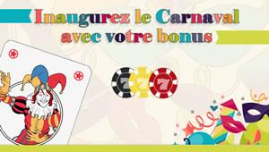 Bonus de 30 % spécial carnaval dans le casino 777 (100 € max)