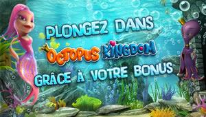 35% de bonus pour découvrir la machine à sous Octopus Kingdom