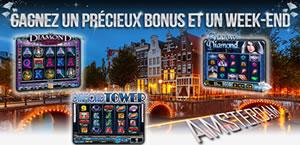 bonus et un week-end � Amsterdam avec casino777.be