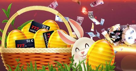 Chasse aux œufs de  Pâques: Gagnez des milliers de cadeaux avec le casino777