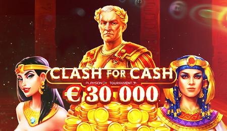Clash for Cash 30K : Playson met 30.000 euros en jeu sur le casino777