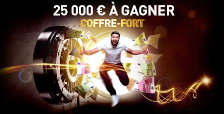 25.000 € à gagner dans le coffre fort du Casino777