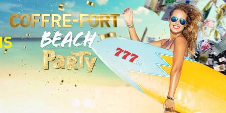 Beach Party: Gagnez 4 fois plus de tokens  jusqu'à jeudi avec le casino777