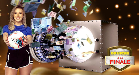 Course à la finale: Quadruple dose de tokens sur  le casino777
