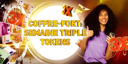 Semaine Triple Tokens: Recevez 3 tokens par  dépôt sur le casino777