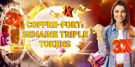 Semaine Triple Token: 3 tokens par dépôt au lieu  d'un sur le casino777