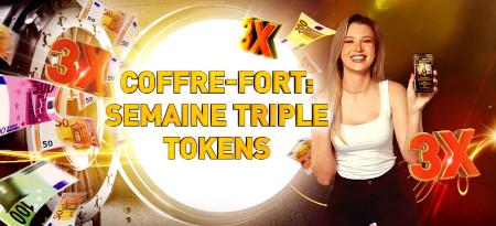 Semaine du coffre-fort: Triplez vos tokens sur  chaque dépôt avec le casino777