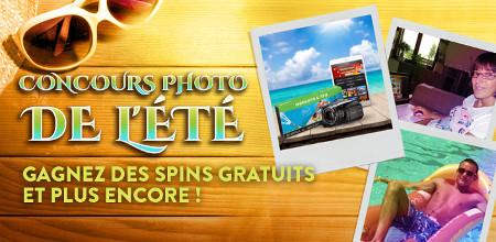Des spins gratuits à gagner avec le concours photo du Casino777