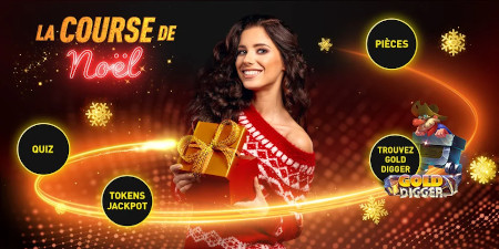 Course de Noël du casino777 : défis, quizz et cadeaux jusqu'à Noël
