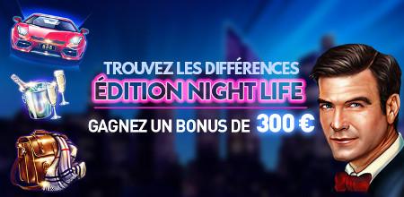 Trouvez les différences et gagnez un bonus de 300 € au casino777