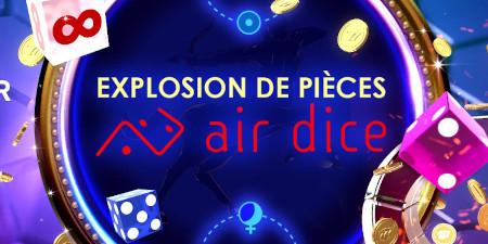 Explosion de pièces Air Dice
