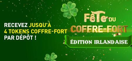 Saint-Patrick: Triplez vos tokens pour chaque dépôt de 10 euros sur le casino777